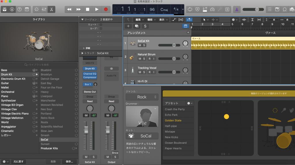 Logic Pro X ビジュアル